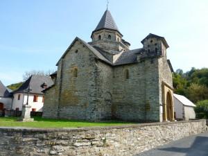 Eglise de l'Hôpital Saint Blaise en Pyrénées Atlantique