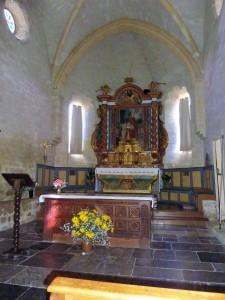 chœur de l'Eglise Hôpital St Blaise